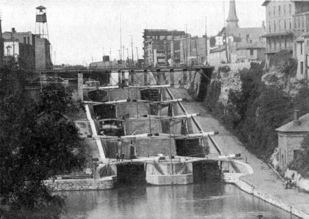 The locks at Lockport