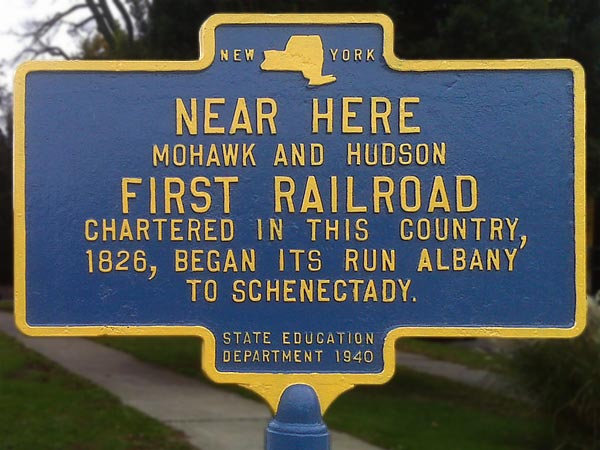 Stagecoaches were soon enlisted to shuttle canal passengers between Schenectady and Albany.
